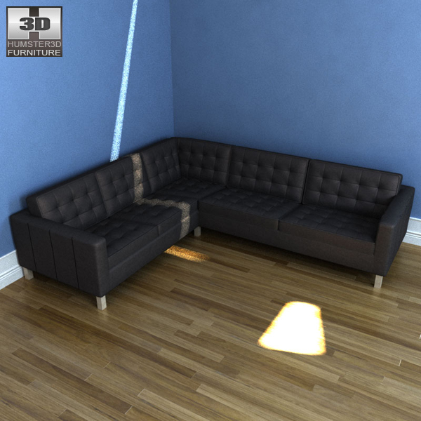 Karlstad Ikea Review: IKEA KARLSTAD Corner Sofa 3D Model