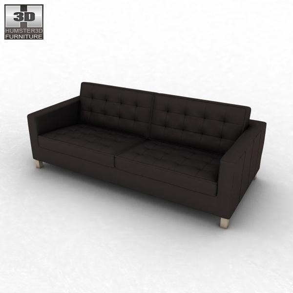 ikea karlstad sofa 3d model humster3d. Black Bedroom Furniture Sets. Home Design Ideas