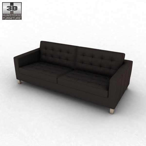 Ikea karlstad sofa 3d model humster3d Ikea karlstad sofa
