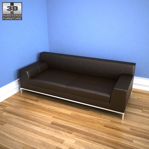 IKEA KRAMFORS Three-Seat Sofa 3d model