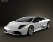 3D model of Lamborghini Murcielago LP640 2006