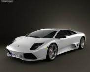 3D model of Lamborghini Murcielago LP640 2006