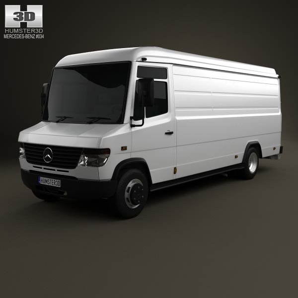 Mercedes-Benz Vario Panel Van LWB High Roof 2011 3d car model