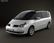 3D model of Renault Grand Espace 2011