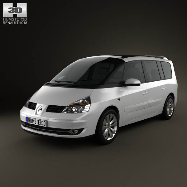 renault grand espace 2011 3d model humster3d. Black Bedroom Furniture Sets. Home Design Ideas