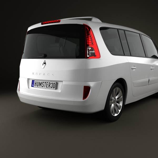 renault grand espace 2011 3d model humster3d. Black Bedroom Furniture Sets. Home Design Ideas