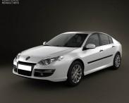 3D model of Renault Laguna 2011