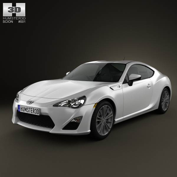 Scion FR-S 2013 3d car model