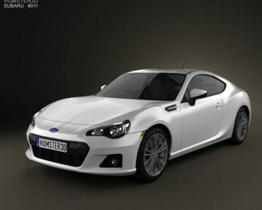 3D model of Subaru BRZ 2013