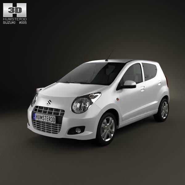 Suzuki Alto 2011 3d car model