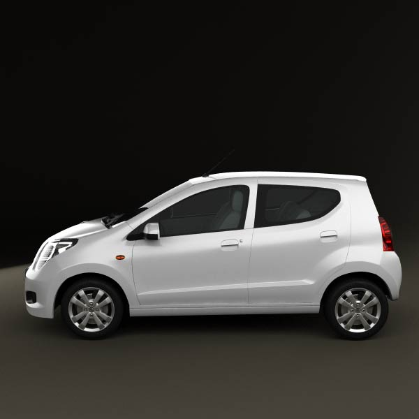 Suzuki Alto 2011 3d car model