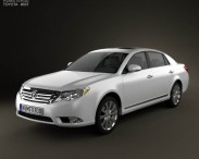 3D model of Toyota Avalon 2012