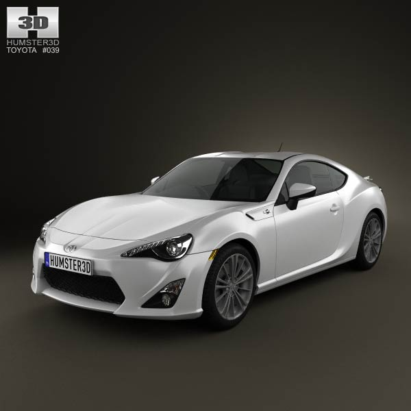 Toyota GT 86 2013 3d car model