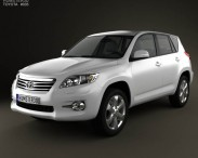 3D model of Toyota Rav4 European (Vanguard) 2012