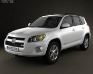 3D model of Toyota Rav4 US 2012