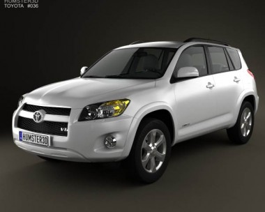 3D model of Toyota Rav4 US 2012