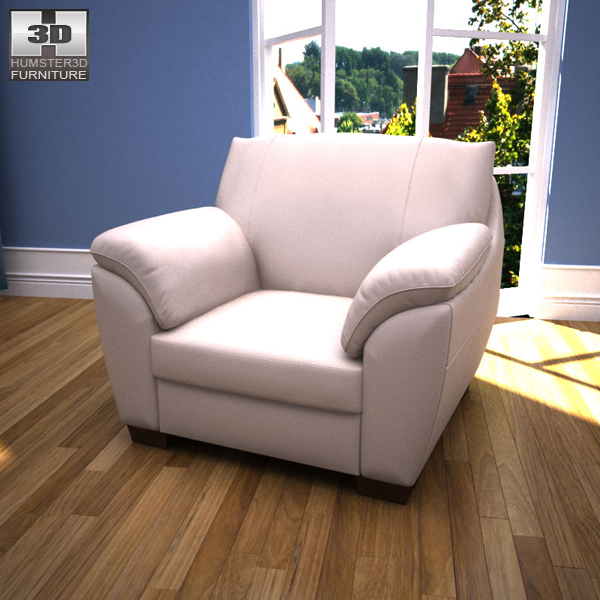 IKEA VRETA Armchair 3d model
