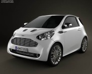 3D model of Aston Martin Cygnet 2012