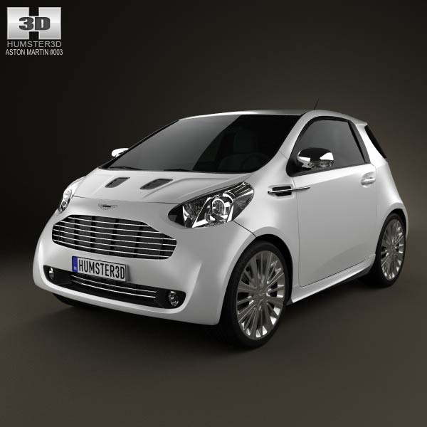 Aston Martin Cygnet 2012 3d car model