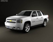 3D model of Chevrolet Avalanche 2011