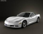 3D model of Chevrolet Corvette (C6) 2011