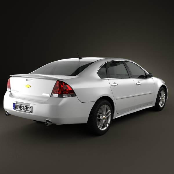 Chevrolet Impala 2012 3d model