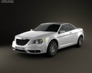 3D model of Chrysler 200 Convertible 2011