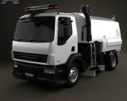 3D model of DAF LF Road Cleaner 2011