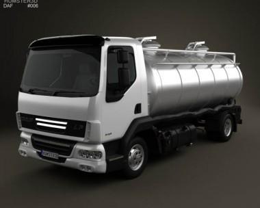 3D model of DAF LF Tanker 2011