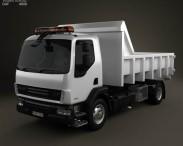 3D model of DAF LF Tipper 2011
