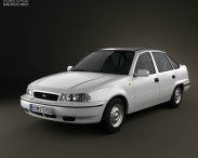3D model of Daewoo LeMans (Nexia, Cielo, Racer) Sedan 1996
