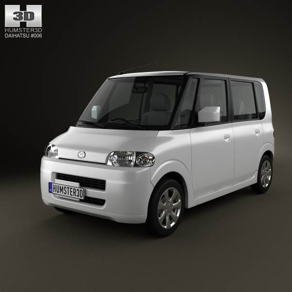Daihatsu Tanto 2003 3d car model