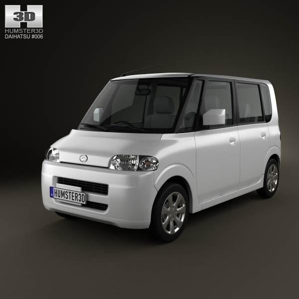 Daihatsu Tanto 2003 3d car model