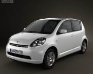 3D model of Daihatsu Sirion 2011