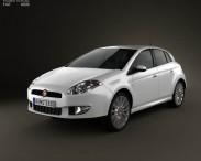 3D model of Fiat Bravo 2011