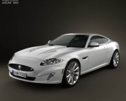 3D model of Jaguar XKR (X150) 2012