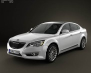 3D model of Kia Cadenza (K7) 2012