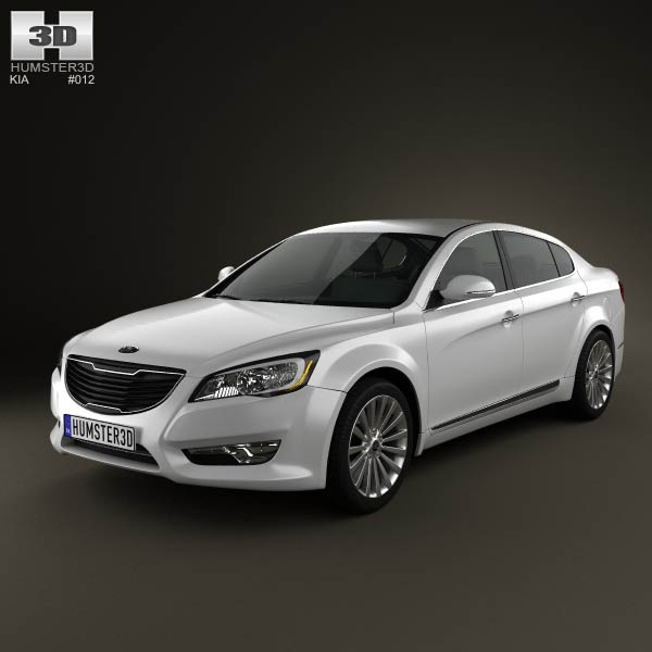 Kia Cadenza (K7) 2012 3d car model