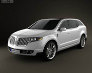 3D model of Lincoln MKT 2012