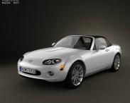 3D model of Mazda MX-5 (Miata) 2009
