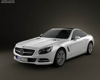 3D model of Mercedes-Benz SL-class 2012