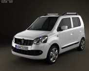 3D model of Suzuki (Maruti) Wagon R 2011