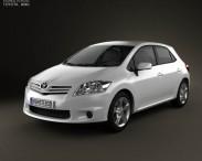 3D model of Toyota Auris 2012