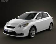3D model of Toyota Matrix (Voltz) 2011