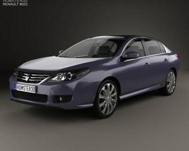 3D model of Renault Latitude 2011
