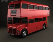 3D model of AEC Routemaster RM 1954