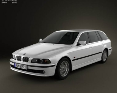 3D model of BMW 5 Series E39 Touring (1995-2003)