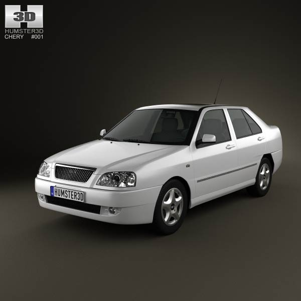 Chery A15 Cowin 2003 3d car model