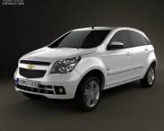 3D model of Chevrolet Agile 2011