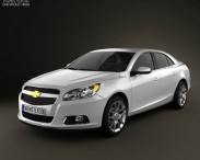 3D model of Chevrolet Malibu ECO 2013